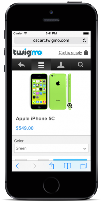 Twigmo Product Page