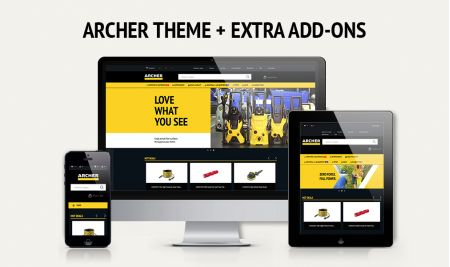 Increase sales with a stylish black & yellow theme