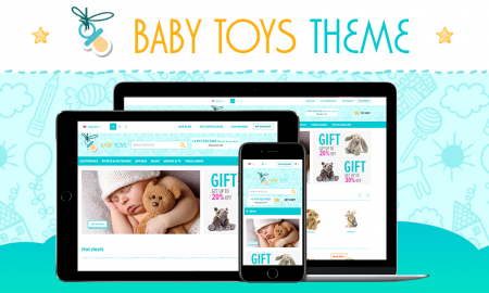 Baby Toys Theme for CS-Cart