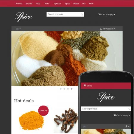 Theme Sky Spice Ruby
