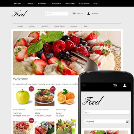 Theme Sky Food Ruby