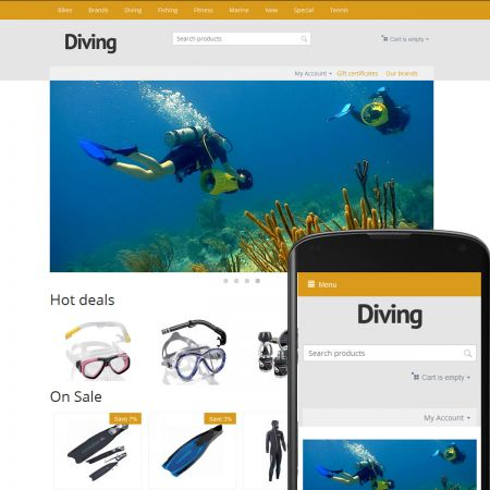 Theme River Diving Ochre