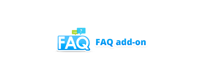CS-Cart FAQ addon