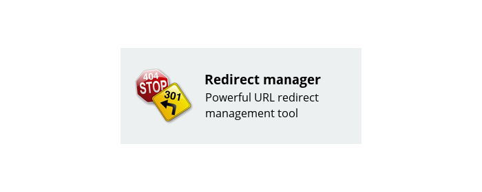 Redirect manager image