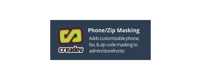 Phone/Zip Formatting for CS-Cart