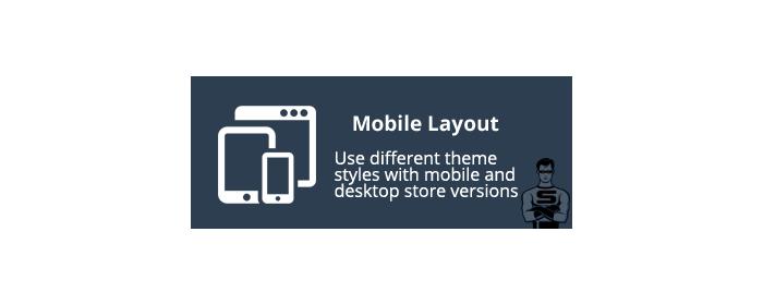 CS-Cart Mobile Layout