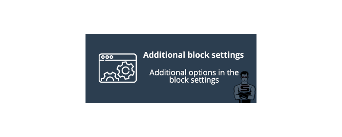 Additional block settings