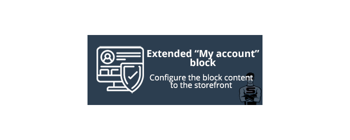 "Extended ""My account"" block"
