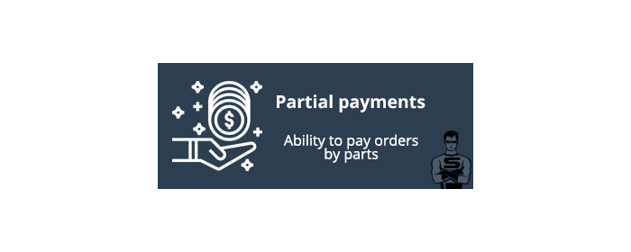 Partial payments