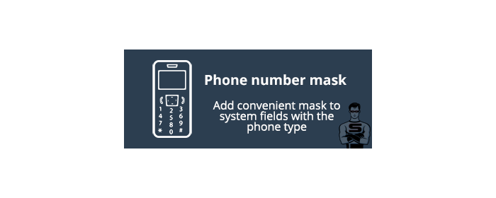Phone number mask
