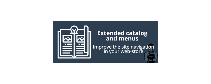 Extended catalog and menus