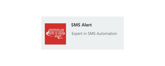 SMS Alert Order Notifications