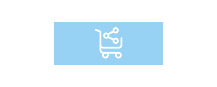 Let your customers share the contents of their cart
