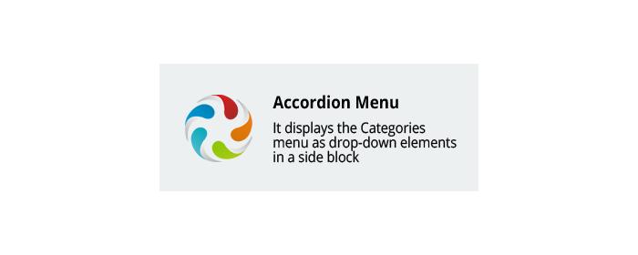 Accordion Menu CS-Cart add-on