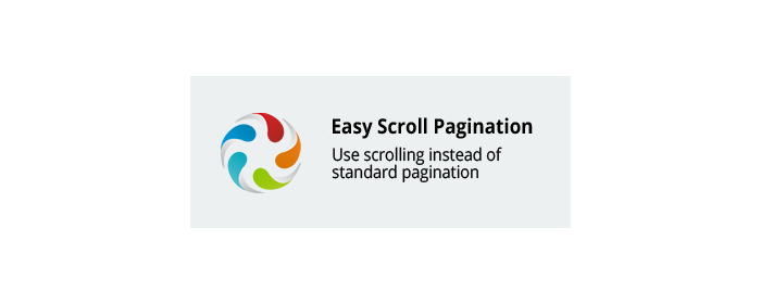 Easy scroll pagination CS-Cart add-on