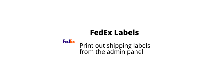 FedEx Shipping Labels add-on
