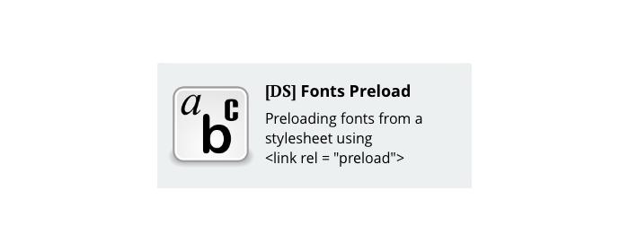CS-Cart fonts preload