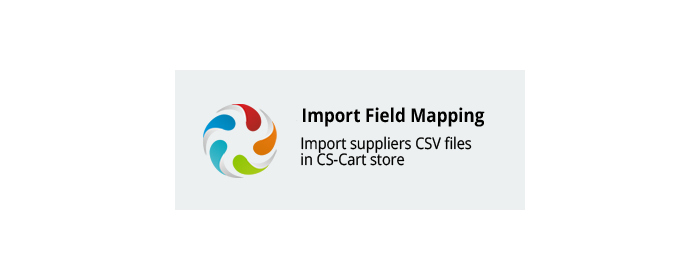 Import Field Mapping Cs-Cart add-on