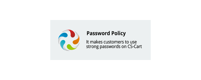 Password Policy CS-Cart add-on