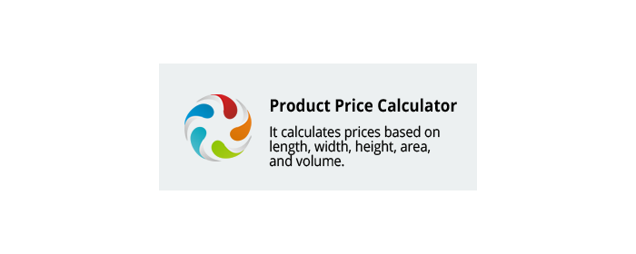 CS-Cart add-on Product Price Calculator