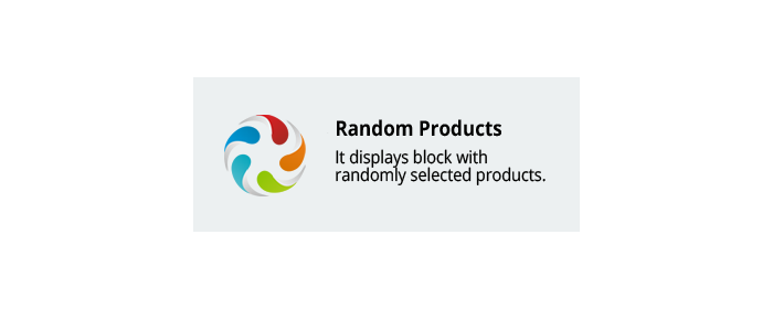 CS-Cart add-on Random Products