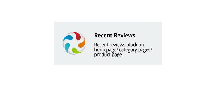 Recent Reviews CS-Cart add-on