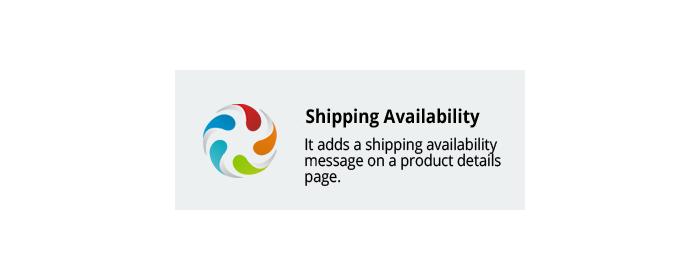 CS-Cart add-on Shipping Availability