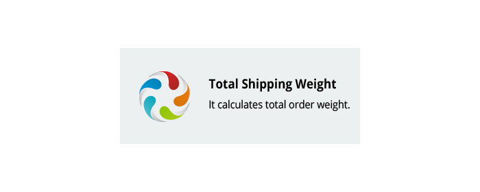 CS-Cart add-on Total Shipping Weight