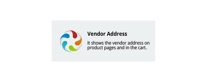 CS-Cart add-on Vendor Address