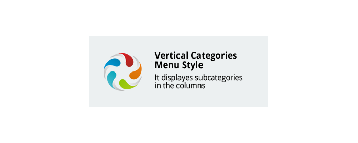 Vertical Categories Menu Style CS-Cart add-on