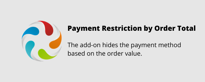 Payment Restriction by Order Total CS-Cart add-on