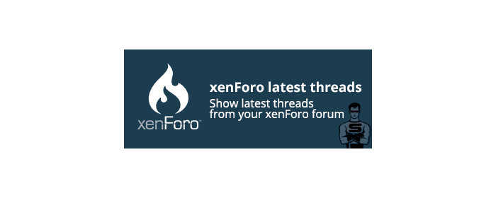 "CS-Cart ""xenForo latest threads"" add-on"