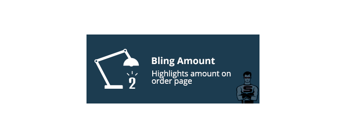 "CS-Cart ""Bling Amount"" add-on"