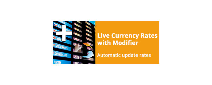 Live Currency Rates with Modifier