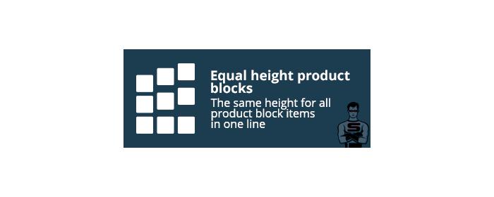 "CS-Cart ""Equal height product blocks"""
