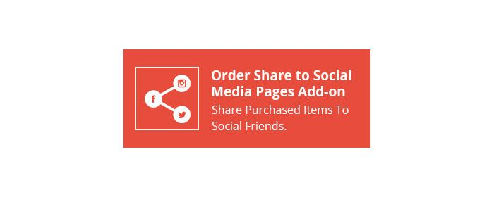 CS-Cart Order Share to Social Media