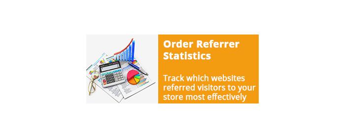 Order Referrer Statistics