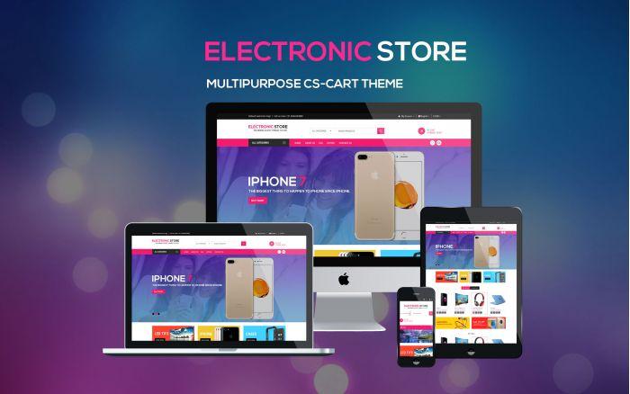 Electronic Store - Multipurpose CS-Cart Theme