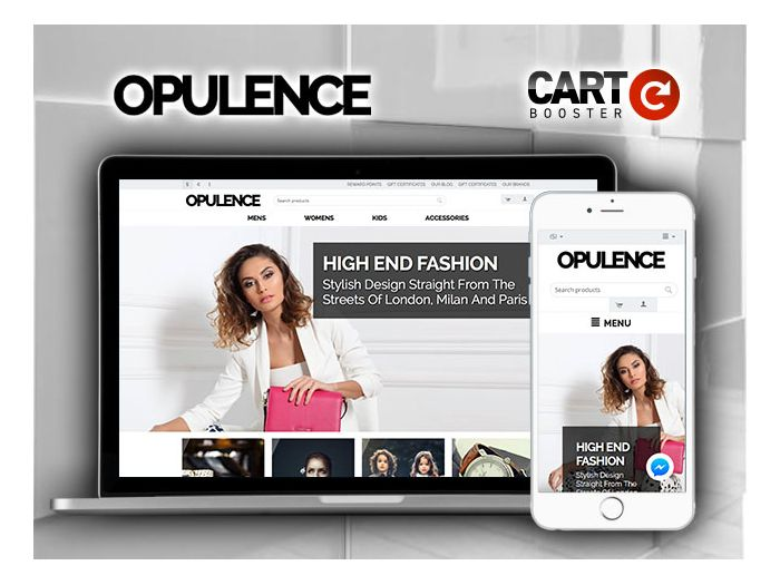 Opulence Premium Theme for CS-CART