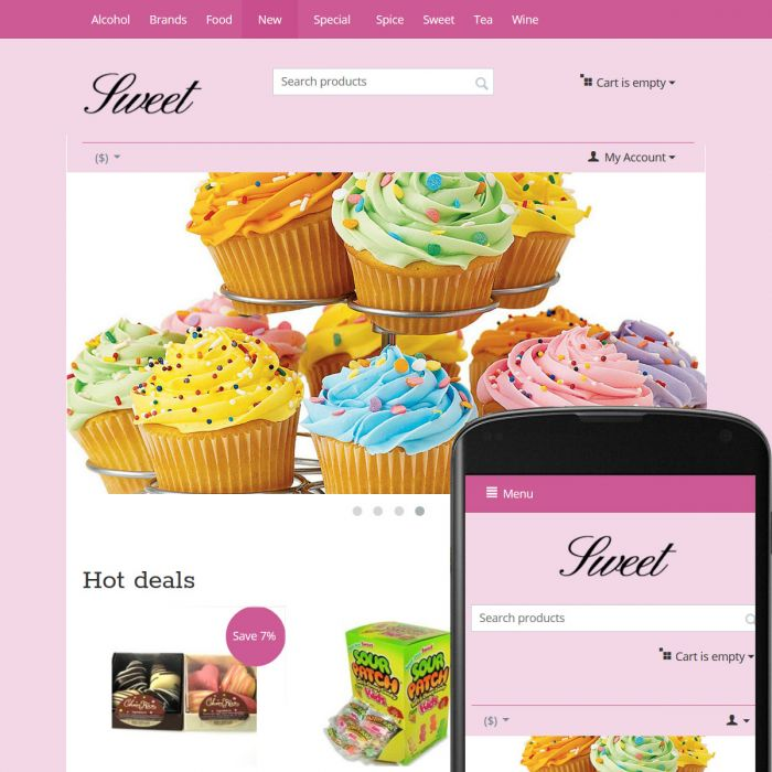 Theme Sky Sweet Rose