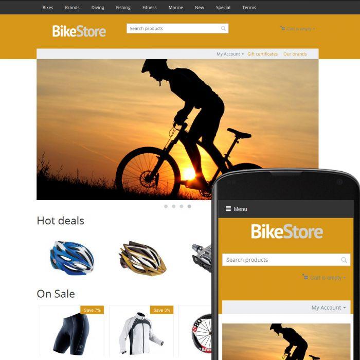 Theme River Bikes Ochre