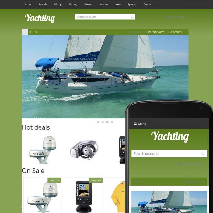 Theme Islands Yachting Taiga